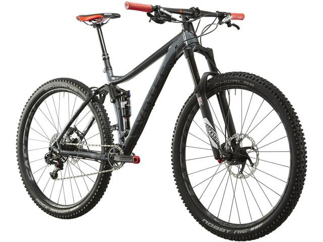 VOTEC VX Pro - Trail Fully 2. Wahl dunkelgrau glänzend/schwarz matt